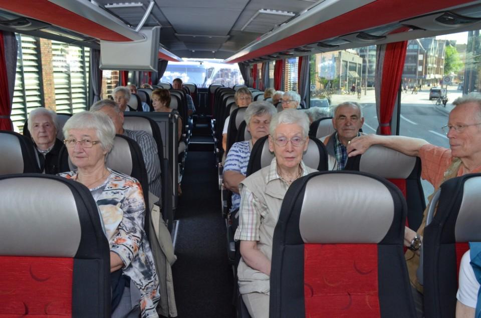 Busfahrt Bergedorf-Geesthacht