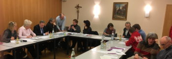 Schwerpunkte bilden: Diskussion mit Gemeinden und OKL