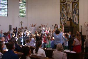 Herz Jesu Reinbek Familiengottesdienst