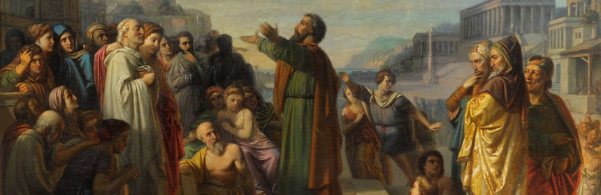 Paulus in Athen 19. Jhdt