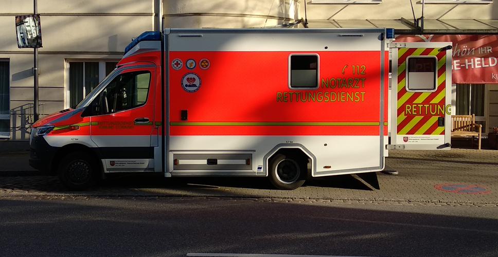 Rettungswagen der Feuerwehr