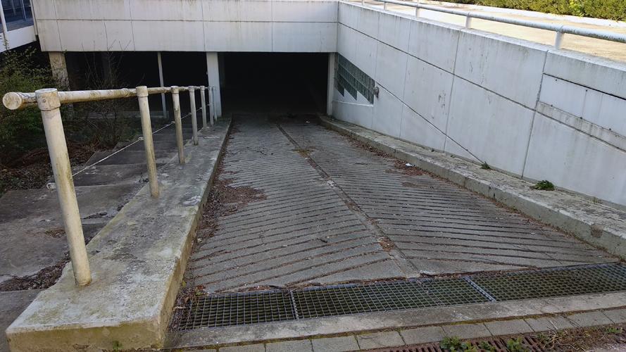 Zufahrt zur Tiefgarage